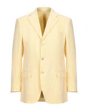 Пиджак JASPER REED. Цвет: желтый