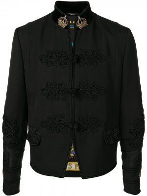 Декорированный жакет Dolce & Gabbana. Цвет: черный