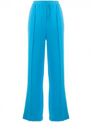 Широкие спортивные брюки Alysi. Цвет: синий