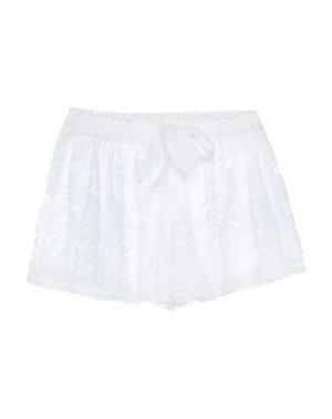 Повседневные шорты EMAMŌ. Цвет: белый