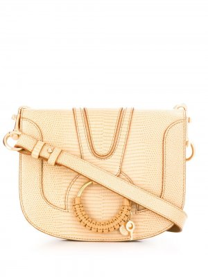 Маленькая сумка через плечо Hana See by Chloé. Цвет: нейтральные цвета