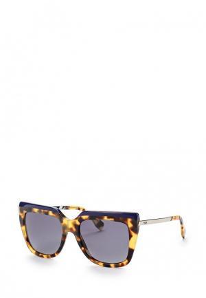 Очки солнцезащитные Fendi FE368DWEPC29. Цвет: коричневый
