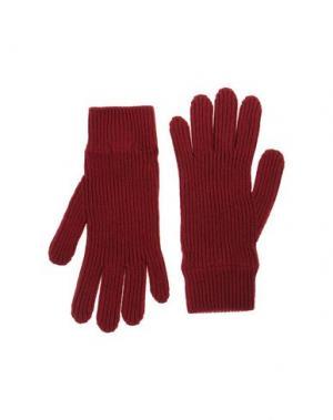 Перчатки MALO. Цвет: красно-коричневый