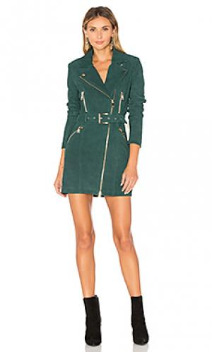 Платье nicole X by NBD. Цвет: зеленый