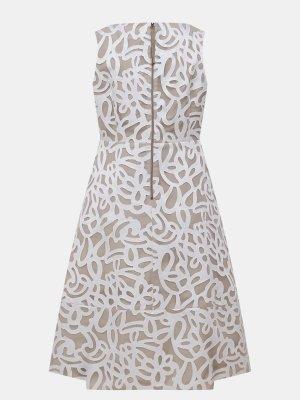 Платье Luisa Cerano. Цвет: bezhevyy