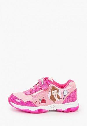 Кроссовки Disney. Цвет: розовый