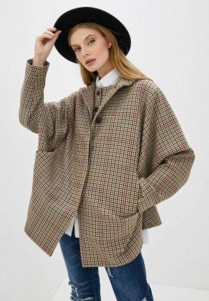 Пальто Vivienne Westwood Anglomania. Цвет: бежевый