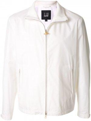 Куртка на молнии Dunhill. Цвет: белый