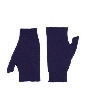 Перчатки ROBERTO COLLINA. Цвет: фиолетовый