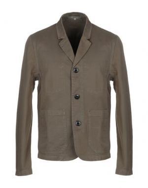 Пиджак SUIT. Цвет: зеленый-милитари