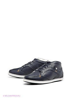 Ботинки HUB. Цвет: черный