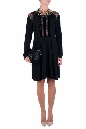 Платье Alberta Ferretti. Цвет: черный