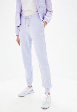 Брюки спортивные Nike SPORTSWEAR ESSENTIAL WOMENS FLEECE PANTS. Цвет: фиолетовый