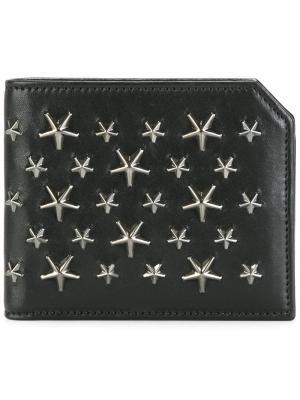 Бумажник Albany Jimmy Choo. Цвет: черный