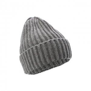 Шерстяная шапка Bilancioni. Цвет: серый