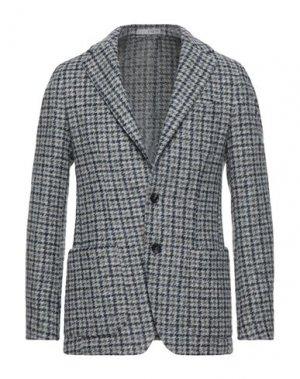 Пиджак 0909 FATTO IN ITALIA. Цвет: серый