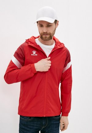 Ветровка Kelme Raincoat. Цвет: красный