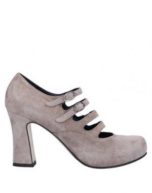 Туфли I AM. Цвет: голубиный серый