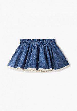 Юбка джинсовая Trenders. Цвет: синий