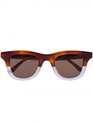Солнцезащитные очки Creepers из коллаборации с Local Authority Thierry Lasry. Цвет: коричневый