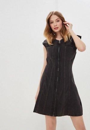 Платье джинсовое Cheap Monday. Цвет: черный