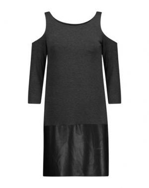 Короткое платье BAILEY 44. Цвет: стальной серый