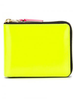 Кошельки и визитницы Comme Des Garçons Wallet. Цвет: жёлтый и оранжевый