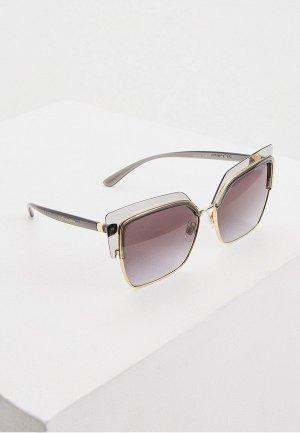 Очки солнцезащитные Dolce&Gabbana 0DG6126 31608G. Цвет: золотой