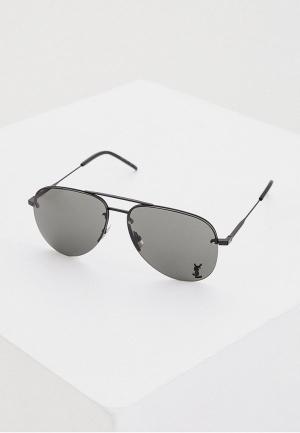 Очки солнцезащитные Saint Laurent CLASSIC 11 M 001. Цвет: черный
