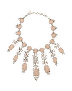 Ожерелье ELIZABETH COLE. Цвет: серебристый