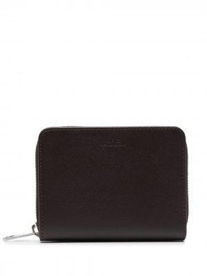Компактный кошелек Emmanuel A.P.C.. Цвет: коричневый