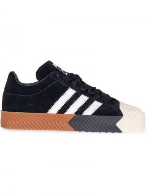 Кроссовки Skate Super Adidas Originals By Alexander Wang. Цвет: черный