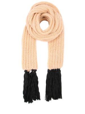 Объемный вязаный шарф CHAPURIN