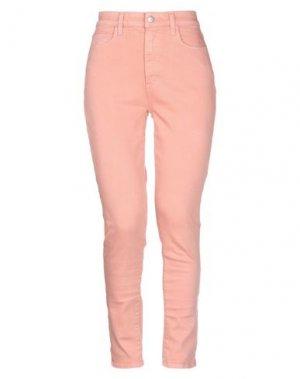 Джинсовые брюки JOE'S JEANS. Цвет: пастельно-розовый
