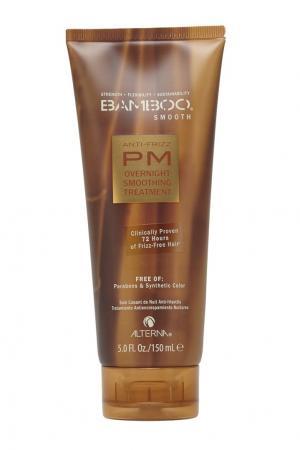 Полирующий шампунь для волос Bamboo Smooth Anti-Frizz PM Overnight Smoothing Treatment 150ml Alterna. Цвет: multicolor
