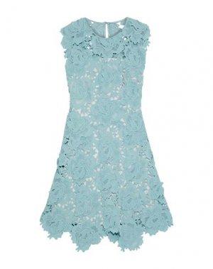 Платье до колена CATHERINE DEANE. Цвет: пастельно-синий