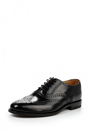 Туфли Loake LO026AMGPJ53. Цвет: черный