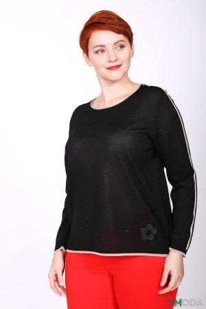 Пуловер Rabe collection. Цвет: чёрный