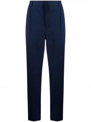 Прямые брюки Corneliani. Цвет: синий