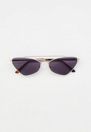 Очки солнцезащитные Karl Lagerfeld KL 313S 045. Цвет: серебряный