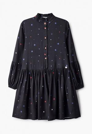 Платье Byblos. Цвет: синий