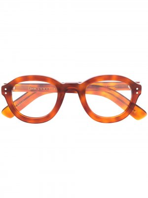 LESCA P43 053 Acetate. Цвет: коричневый