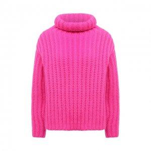 Шерстяной свитер REDVALENTINO. Цвет: розовый