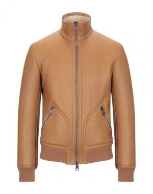 Куртка DACUTE. Цвет: желто-коричневый