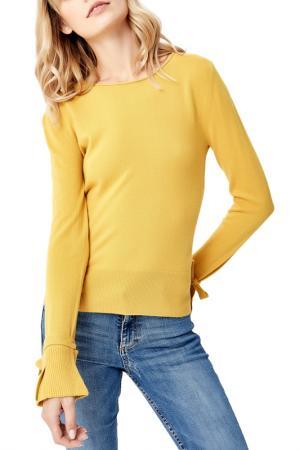 Пуловер MANODE. Цвет: yellow