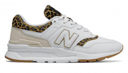 Кроссовки 90s Running New Balance. Цвет: белый