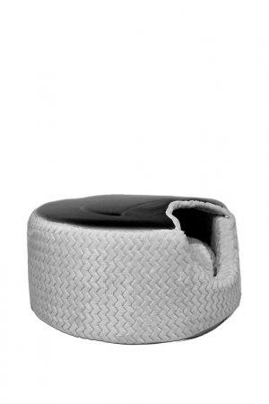 Лежак-домик для животных ANTEPRIMA. Цвет: серый