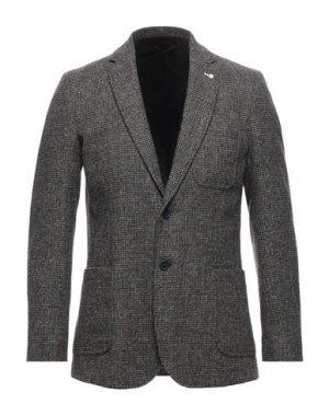 Пиджак GANT. Цвет: темно-коричневый