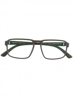 MYKITA VOYAGER 308 MD8 STORM GREY Leather/Fur/Exotic Skins->Leather. Цвет: серый