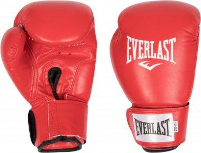 Перчатки боксерские Amateur Cometition PU, размер 10 Everlast. Цвет: красный